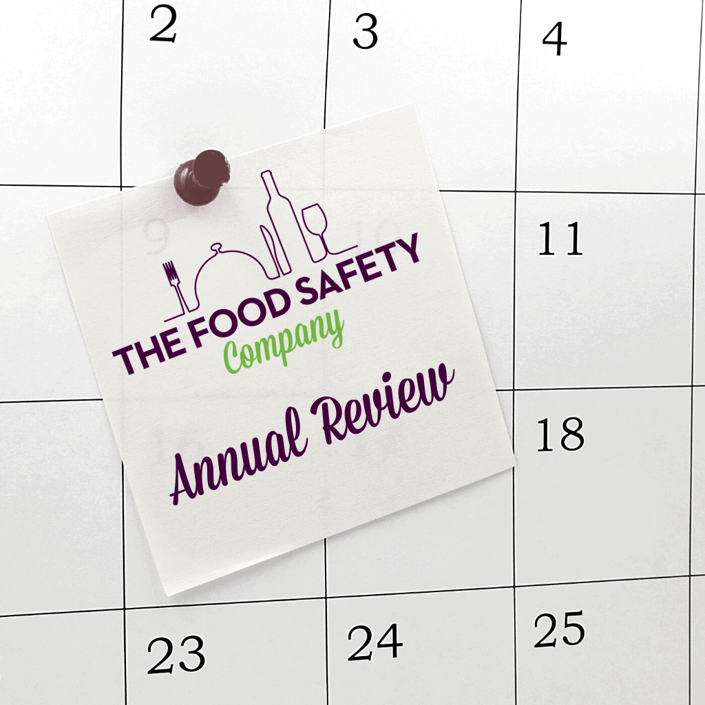 Annual Food Safety Management Review