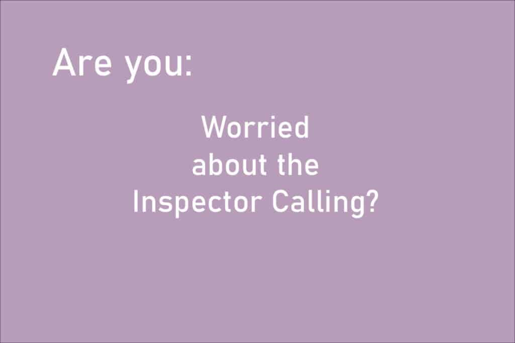 Help with Food Hygiene Inspector visit