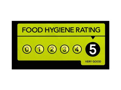 Food Hygiene Rating 5 is Very Good