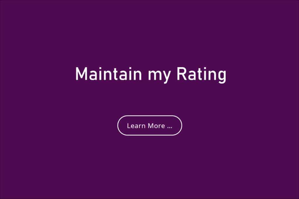 Maintain my food hygiene rating